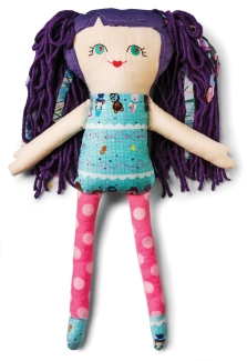 Plush doll $35 by Beth Firth-Martin