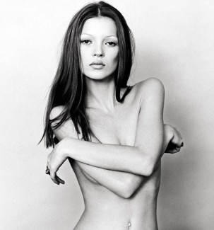 kate moss thin brows